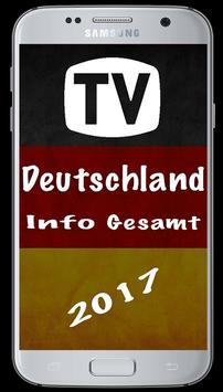 TV Germany Info sat 2017 poster