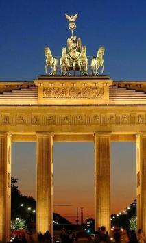 Brandenburg Gatein Berlin poster