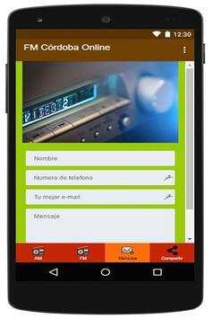 FM Córdoba Online apk screenshot