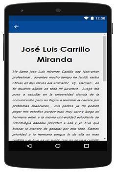 José Luis Miranda Castillo screenshot 1