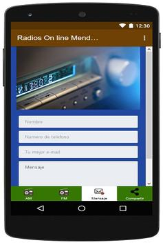 Radios On line de Mendoza apk screenshot