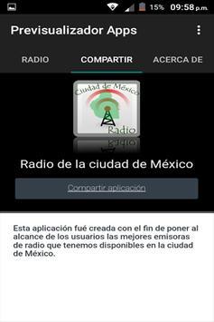 Radio del DF Ciudad de Mexico screenshot 1
