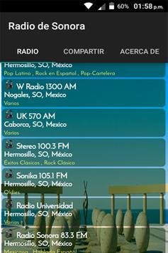 Radios de Sonora México poster