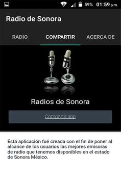 Radios de Sonora México screenshot 2