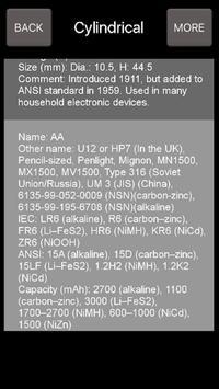 Battery Types screenshot 1