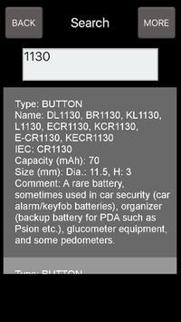 Battery Types screenshot 2