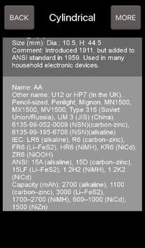 Battery Types screenshot 7