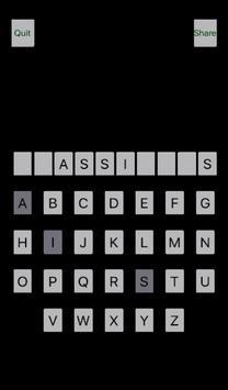 Simple Easy Hangman apk screenshot
