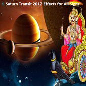 Saturn Transit 2017 Effects for All Signs icon