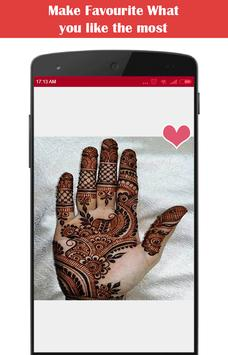 Latest Mehndi Designs 2017 screenshot 1