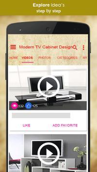 Modern TV Cabinet Design screenshot 1