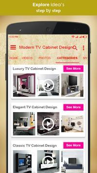 Modern TV Cabinet Design screenshot 2