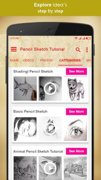 Pencil Sketch Tutorial screenshot 2