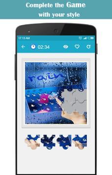 Rainy Water Drops apk screenshot