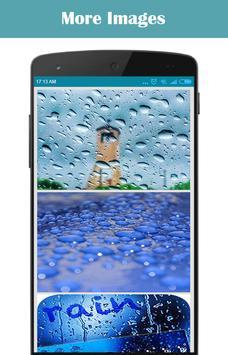 Rainy Water Drops poster