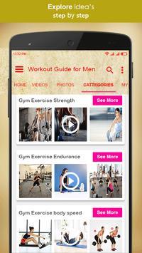 Workout Guide For Men Screenshot 2