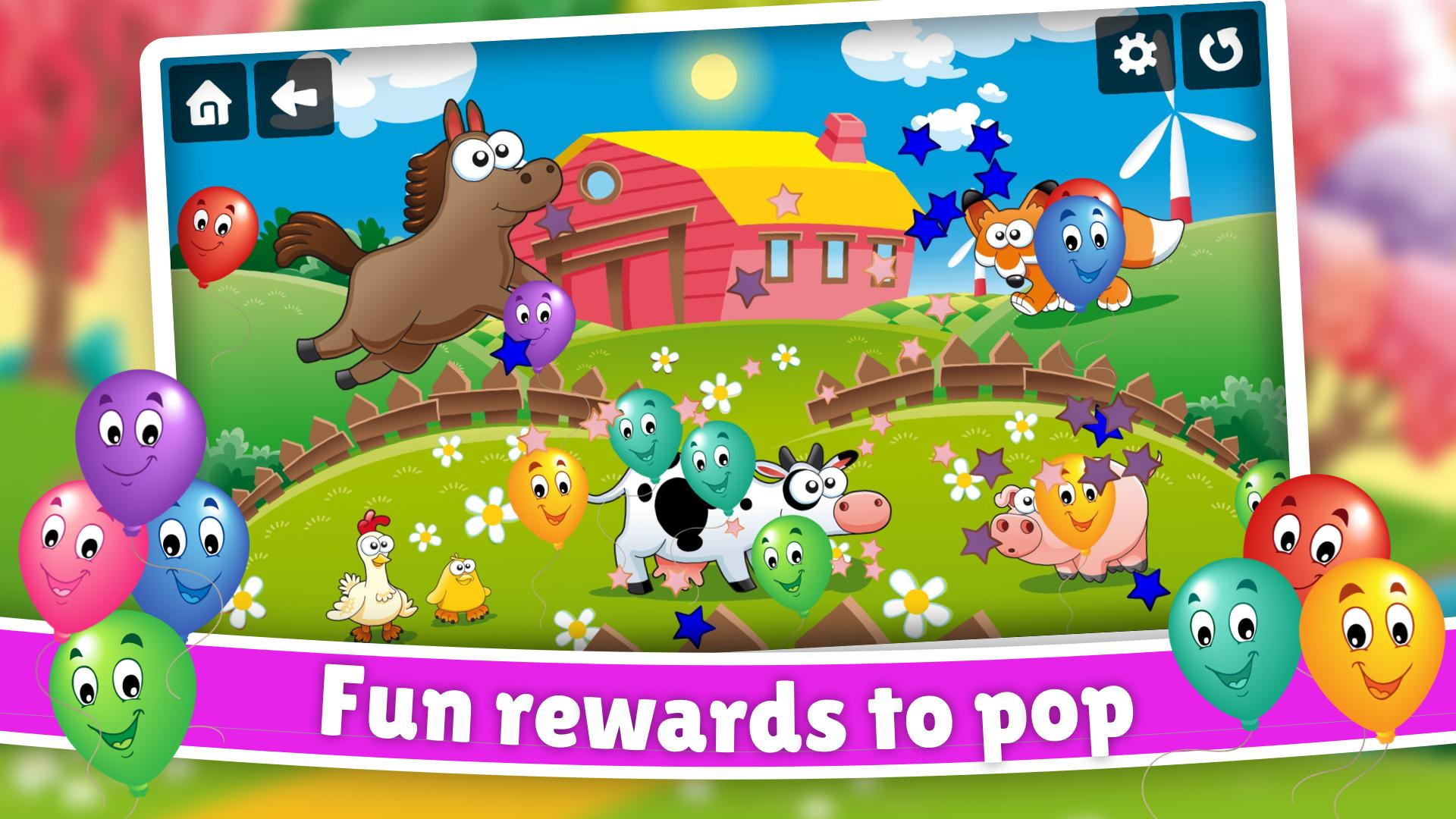 Farm Animals Color Scratch for kids & toddlers 🚜 for ...
