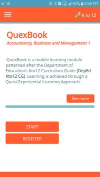 Accountancy, Business & Mngt. (ABM) 1 - QuexBook poster
