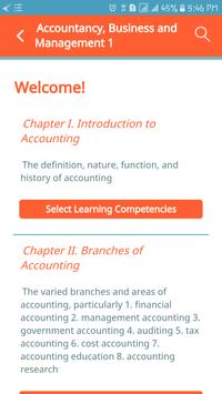 Accountancy, Business & Mngt. (ABM) 1 - QuexBook screenshot 1