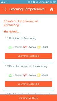 Accountancy, Business & Mngt. (ABM) 1 - QuexBook screenshot 2