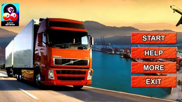 Mountain Cargo Truck Simulator poster