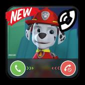 Call from Paw Marshall Patrol prank icon