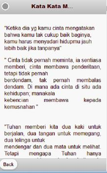 kata mutiara romantis screenshot 2