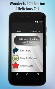 Delicious Cake Recipes Guide poster