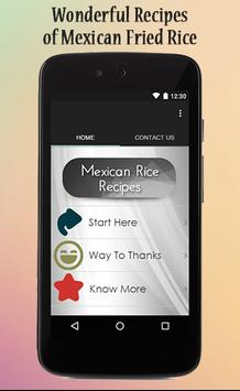 Mexican Rice Recipes Guide poster