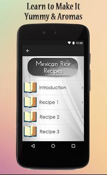 Mexican Rice Recipes Guide apk screenshot