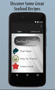 Seafood Recipes Guide poster