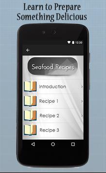 Seafood Recipes Guide apk screenshot
