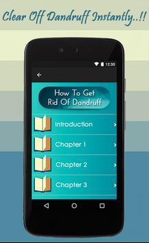 How To Get Rid Of Dandruff apk screenshot