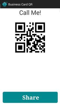Business Card QR Free screenshot 1