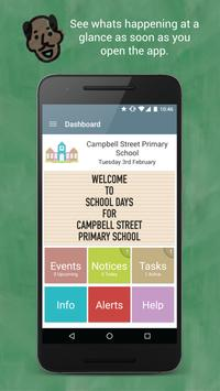 Campbell St PS School Days poster