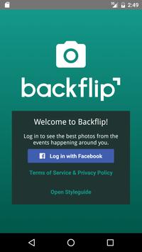 Backflip - Event Photo Sharing poster