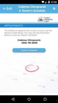 Crabtree Chiropractic apk screenshot