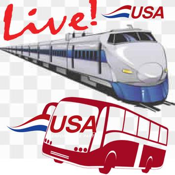US Live Train poster