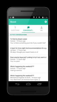 Boost Chat - Help from humans apk screenshot