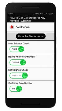 How to Get Call Detail For Any Number : Call Info screenshot 3