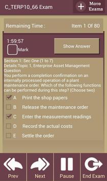 GC C_TERP10_66 SAP Exam apk screenshot