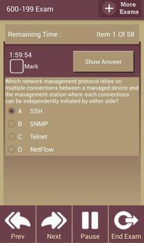 GC 600-199 Cisco Exam apk screenshot