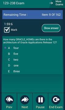 CB 1Z0-238 Oracle Exam apk screenshot