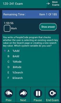 CB 1Z0-241 Oracle Exam apk screenshot