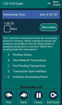 CB 1Z0-519 Oracle Exam apk screenshot