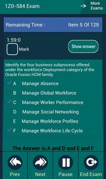 CB 1Z0-584 Oracle Exam screenshot 14