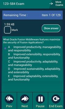 CB 1Z0-584 Oracle Exam screenshot 12
