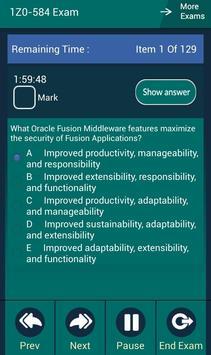 CB 1Z0-584 Oracle Exam screenshot 2