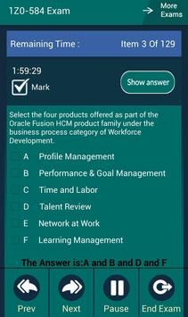CB 1Z0-584 Oracle Exam screenshot 3