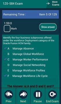 CB 1Z0-584 Oracle Exam screenshot 4